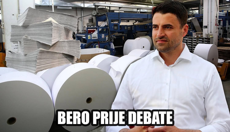 Najbolje fore o debati: 'Tri dana kasnije, Bero i dalje traži papir'