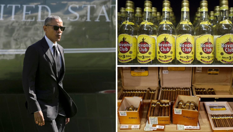 Obama razveselio Amerikance: Rum i cigare s Kube bez limita