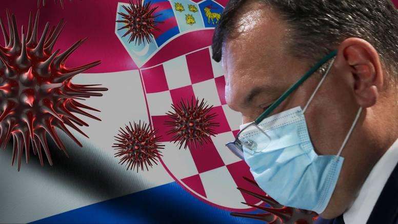 U Hrvatskoj gotovo dvostruko više novozaraženih nego prošli ponedjeljak, preminulo dvoje