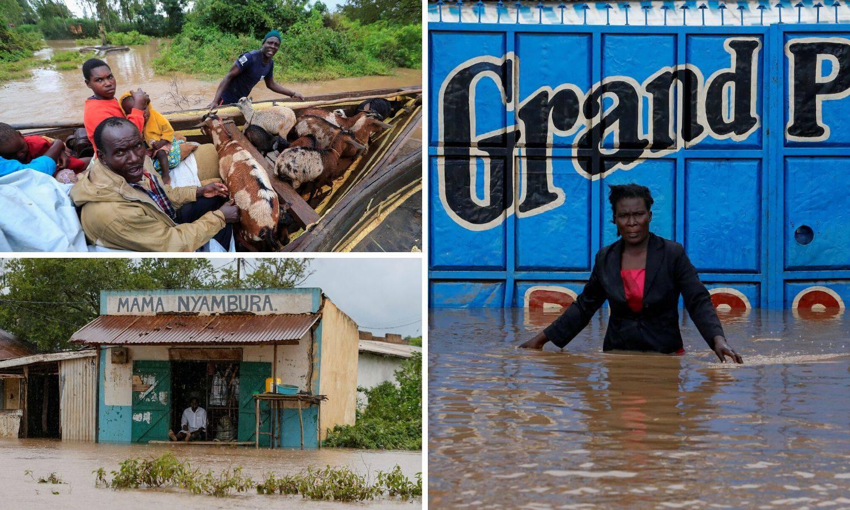 Zbog velikih poplava u Keniji 1.800 ljudi ostalo bez domova