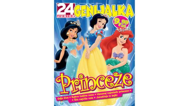 Novi broj 24junior Genijalke na kioscima: Princeze!
