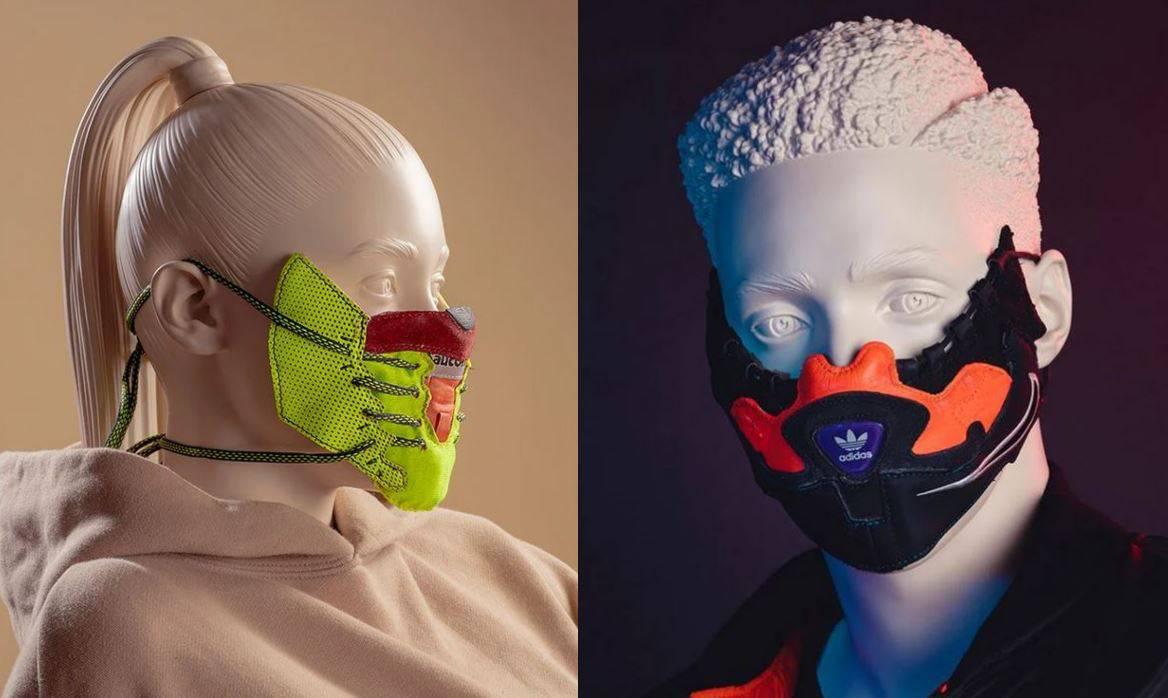 Dizajner rastavio tenisice na dijelove i izradio maske za lice