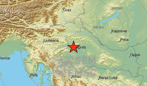 Novi potres: Kuća mi je vibrirala