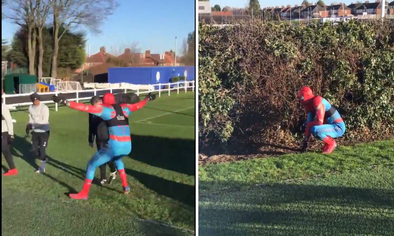 Treneru, pazi Spiderman! Ovo je Vardy na treningu Leicestera