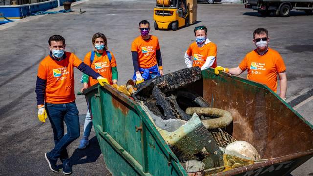 Uklonjeno više od 20 kubika otpada nagomilanog na dnu Jadrana kod Biograda na Moru