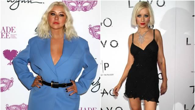 Aguilera se udebljala: Više nije mršavica i 'napumpala' je usne