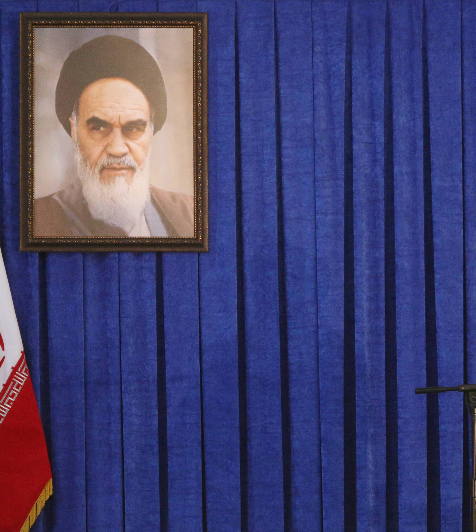 FILE PHOTO: Iran's Supreme Leader Ayatollah Ali Khamenei delivers a speech during a ceremony marking the death anniversary of the founder of the Islamic Republic Ayatollah Ruhollah Khomeini, in Tehran