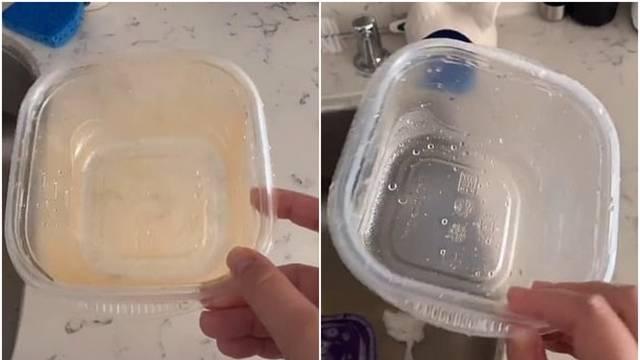 Pranje plastičnog posuđa