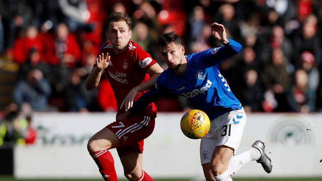 Scottish Cup Quarter Final - Aberdeen v Rangers