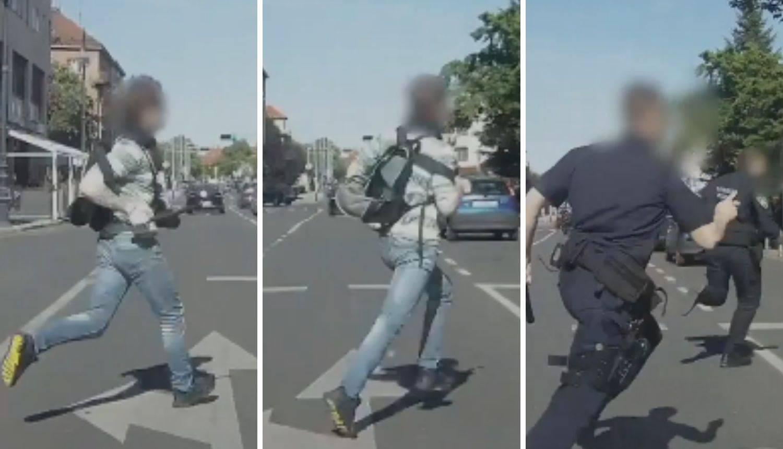 Napao čovjeka nožem, prijetio i krao: Tri policajca ga naganjala