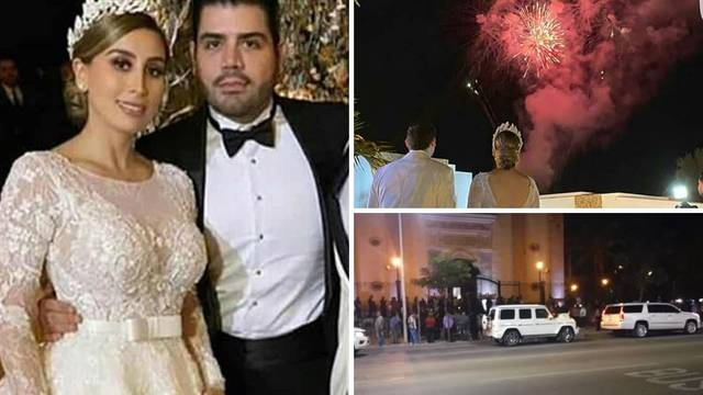 Svadba sa flotom blindiranih auta - udala se El Chapova kći