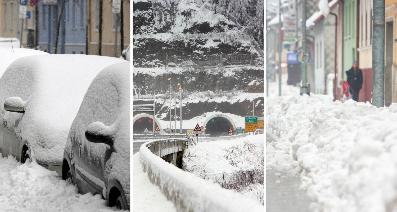 Pripremite se: Snijeg će padati četiri dana, i to bez prestanka