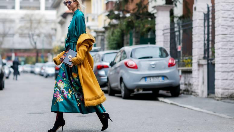Trend ove jeseni je chic zelena boja,  izgledu daje dozu glamura