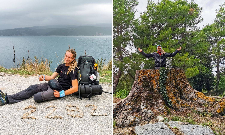 Marin Zovko (38) u 100 dana prehodao Hrvatsku: 'Samoća mi je bila teža od fizičkog umora'