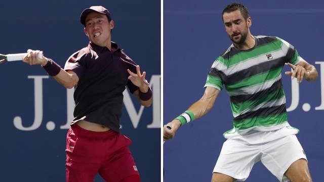 Čilić i Nishikori u reprizi finala 2014. za polufinale US Opena