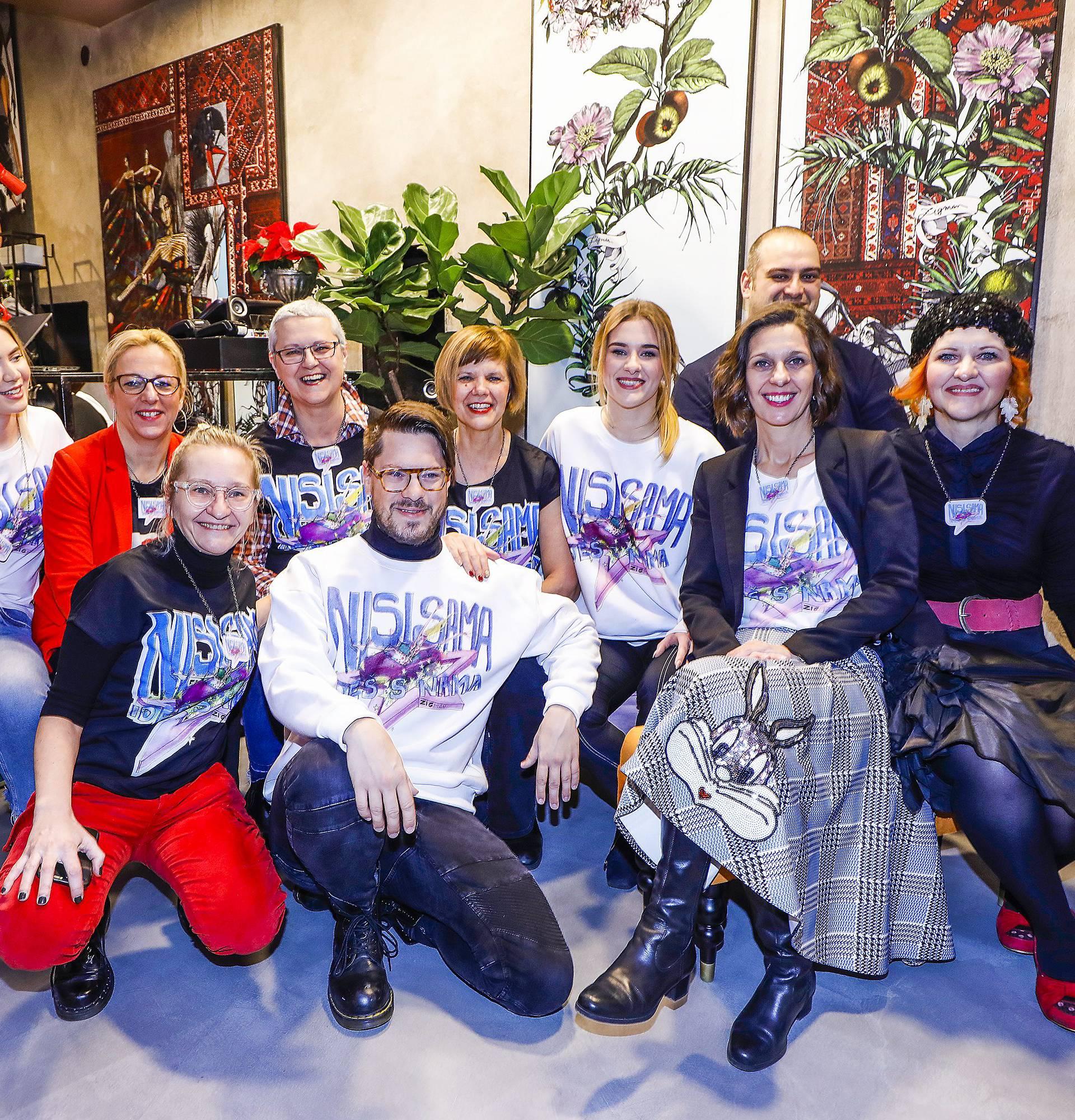 Zagreb, 04.12.2019 - Konferencija za medije udruge zena oboljelih od raka Nismo same