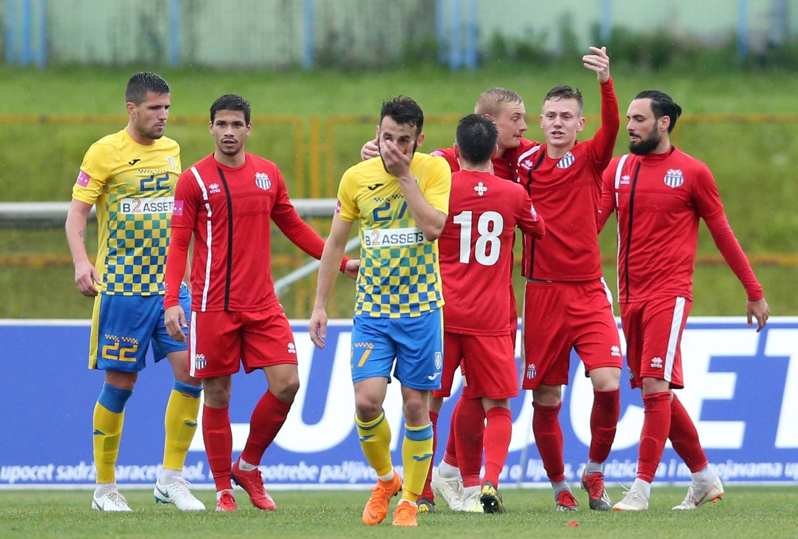 Zagreb: NK Inter Zaprešić i NK Rudeš u 33. kolu Prve HNL
