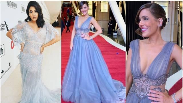 Voditeljice na dodjeli Oscara su se 'utegnule' u hrvatske haljine