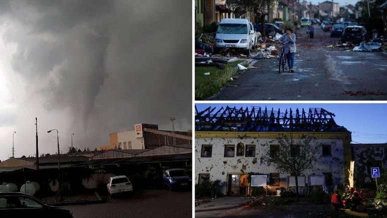 Tornado ostavio pustoš, ljudi hodaju po ruševinama: 'Nikad u životu se nisam toliko bojao'