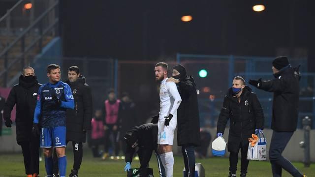 Utakmica osmine finala Hrvatskog nogometnog kupa između Varaždina i Rijeke
