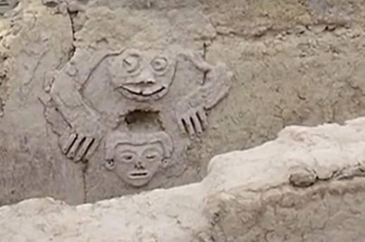 Peruanski arheolozi su pronašli drevni reljef star 3.800 godina