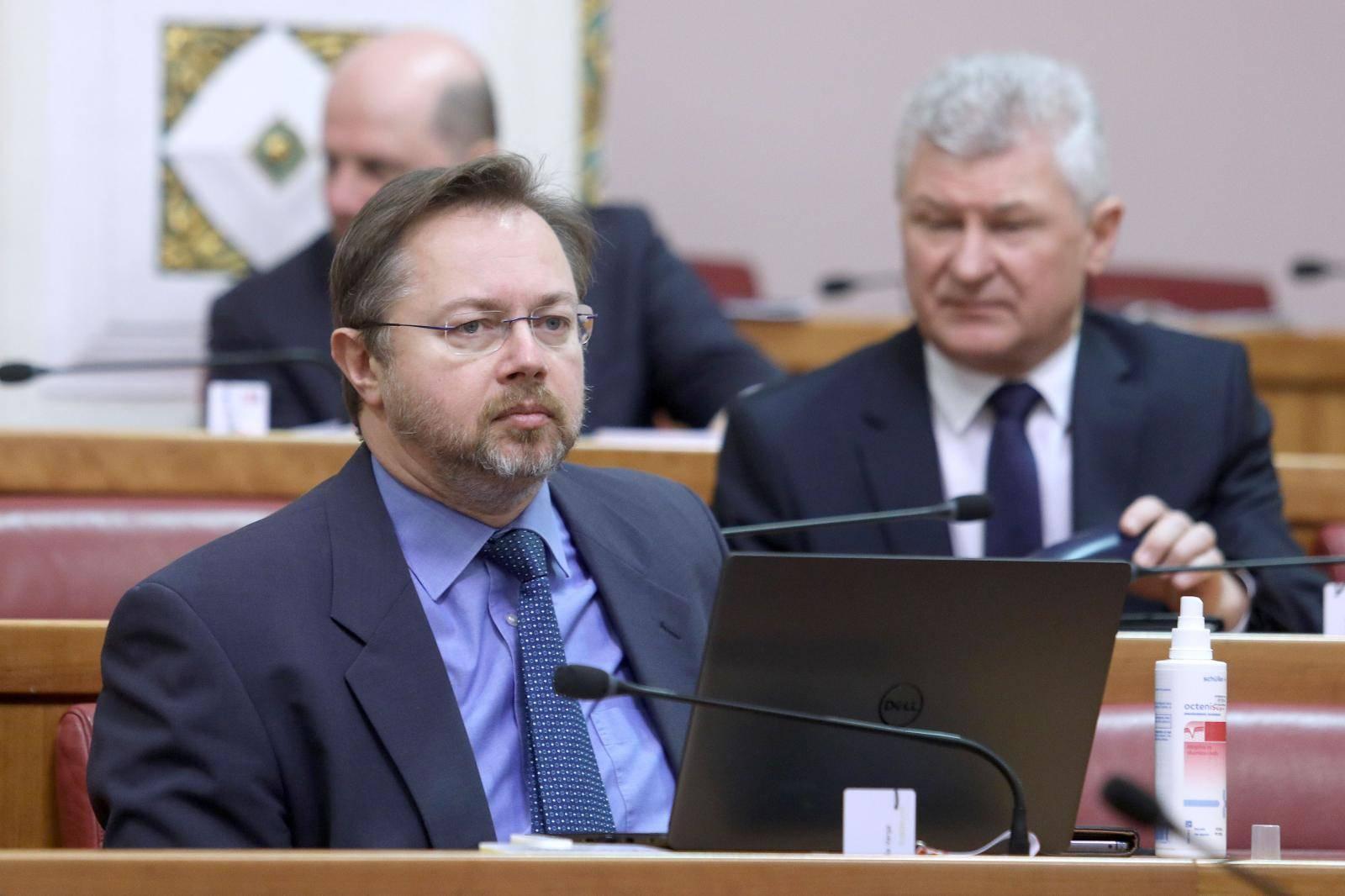 Zagreb: Sabor nastavio sjednicu slobodnim raspravama zastupnika