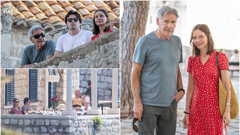 Harrison Ford uživa gol do pasa u Dubrovniku, dobio je i masažu