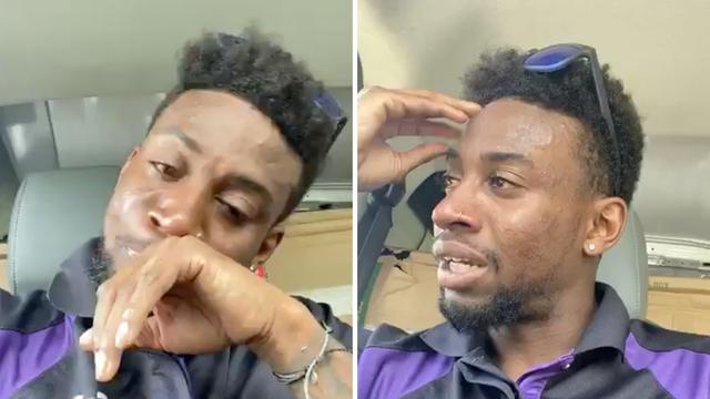 Dostavljač se rasplakao nakon rasističkog ispada: 'Pljunuo je na mene, čemu tolika mržnja?'