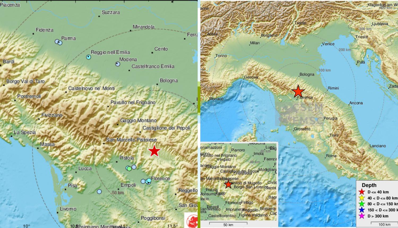 Serija jakih potresa jutros pogodila Italiju, ljudi na ulici