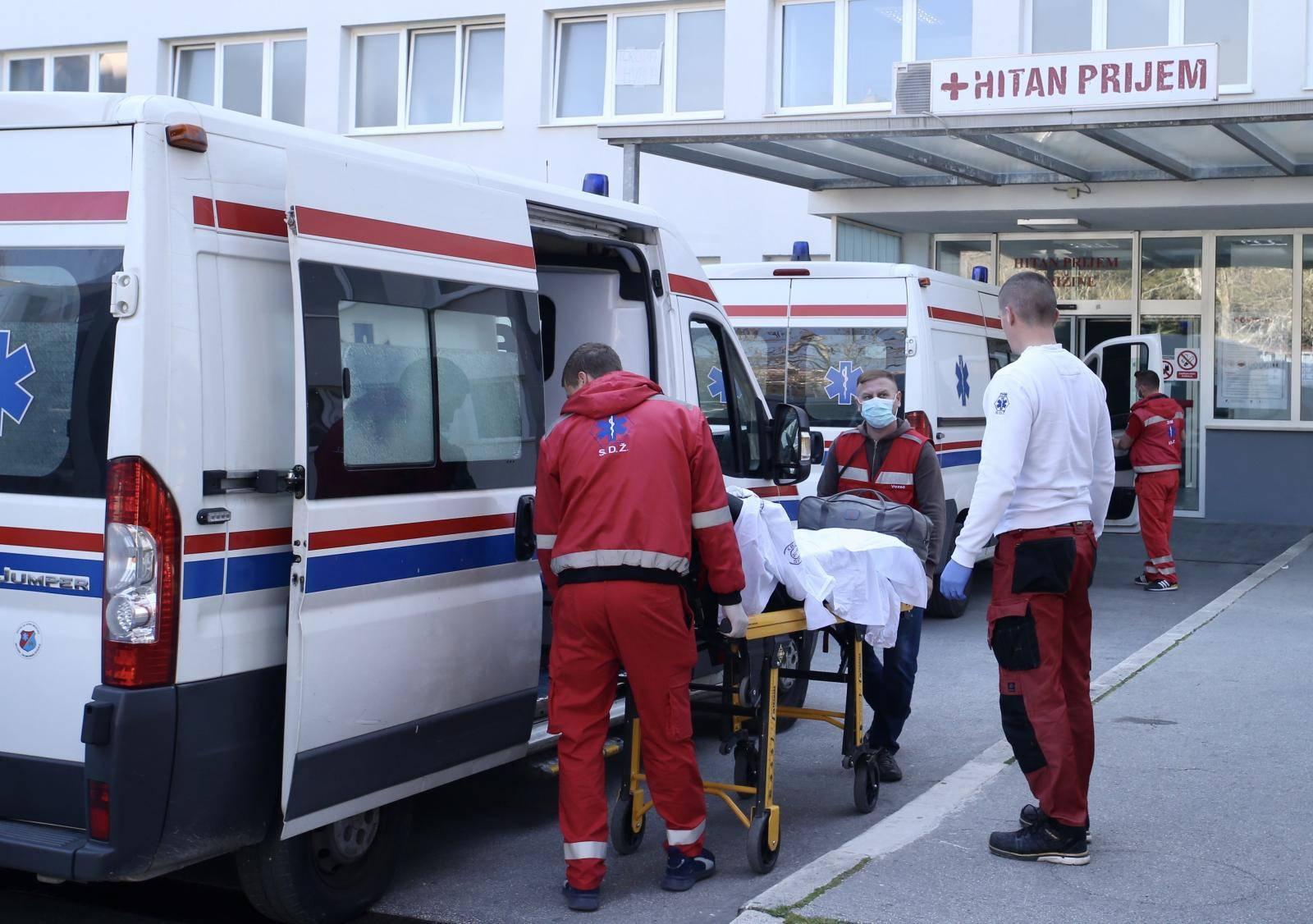 Split: Transport pacijenata iz bolnice Križine na Firule