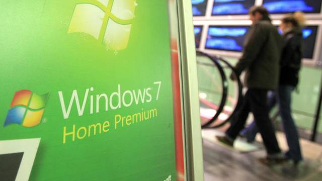 Sales launch of Windows 7