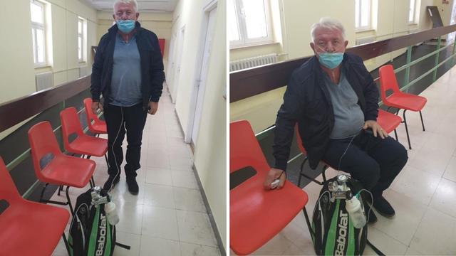 Đakić se oporavlja od korone: 'Nosim sa sobom ruksak s kisikom, ne mogu sam disati'