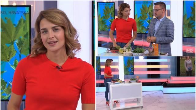 Bez modrica i zavoja: Doris je 'kuhala' u emisiji za školarce
