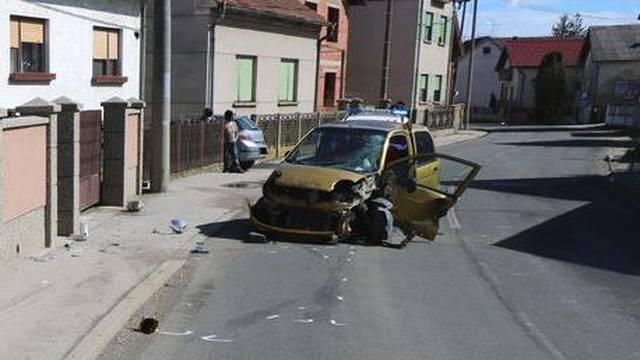 Pijana vozačica autom završila u ogradi, od ozljeda uginuo pas