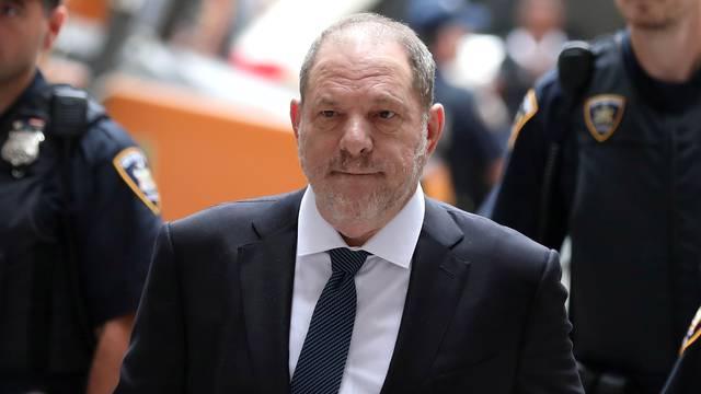 FILE PHOTO: Film producer Harvey Weinstein arrives at New York Supreme Court in Manhattan in New York City