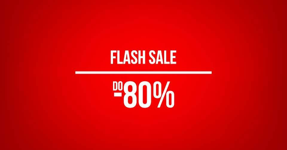 Flash sale na Sport Vision webshopu: Do 80% popusta