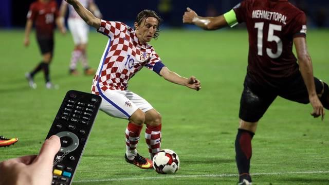Evo gdje gledati prijateljsku utakmicu Hrvatske kod Turske