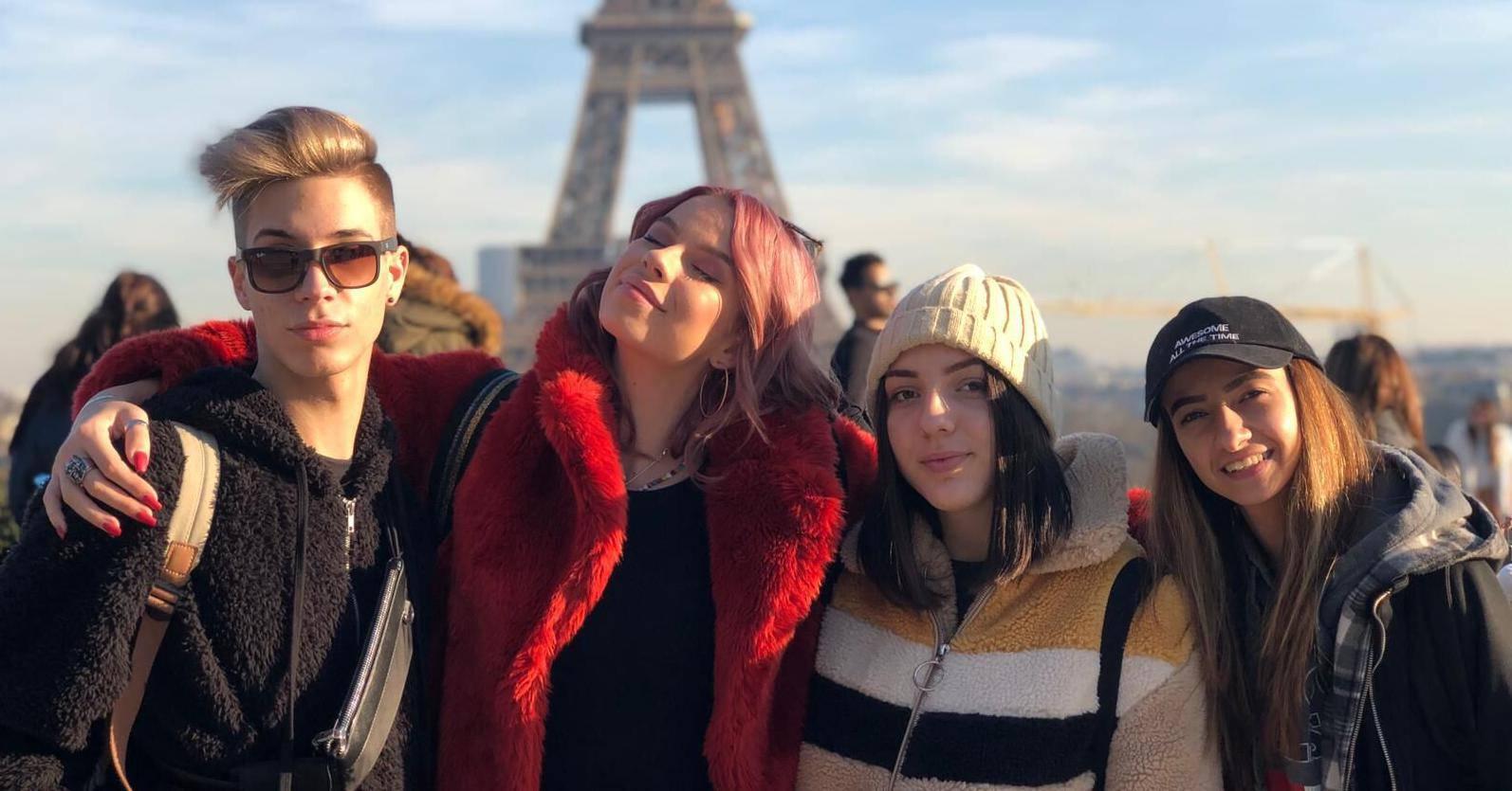 'Parižanin mi je poklonio ružu, a stranac me ljubio kod Eiffela'