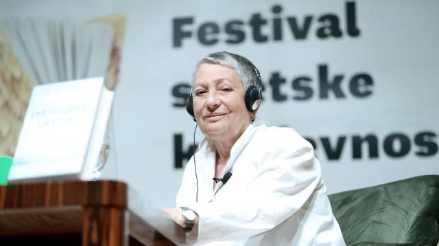 Zagreb: Književnica Ljudmila Ulicka gostovala  na Festivalu svjetske knjizevnosti