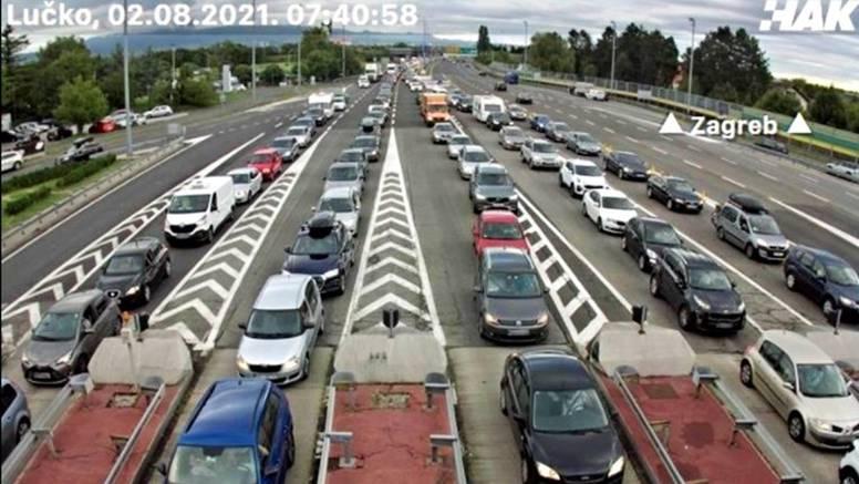 I jutros gužve na Lučkom, na A1 nesreća: Kolone i na granicama