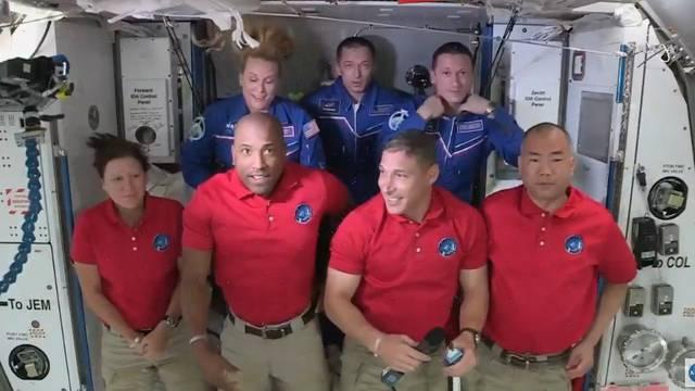 'Zmaj' doveo astronaute na ISS: 'Ovo je bila fantastična vožnja'