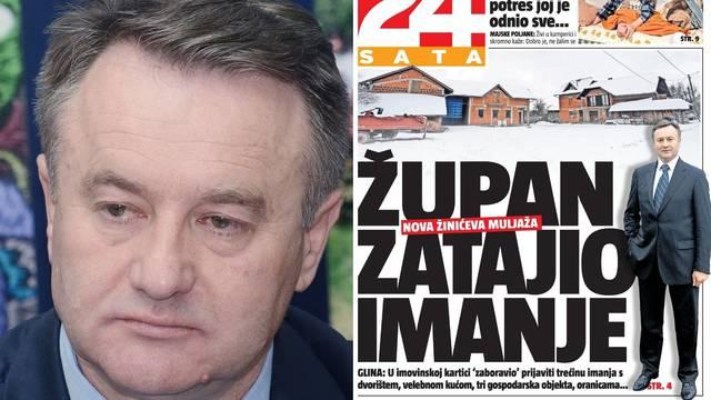 Državno je moje: Slučaj župana Žinića opet potvrdio kako HDZ-ovci prisvajaju državnu imovinu