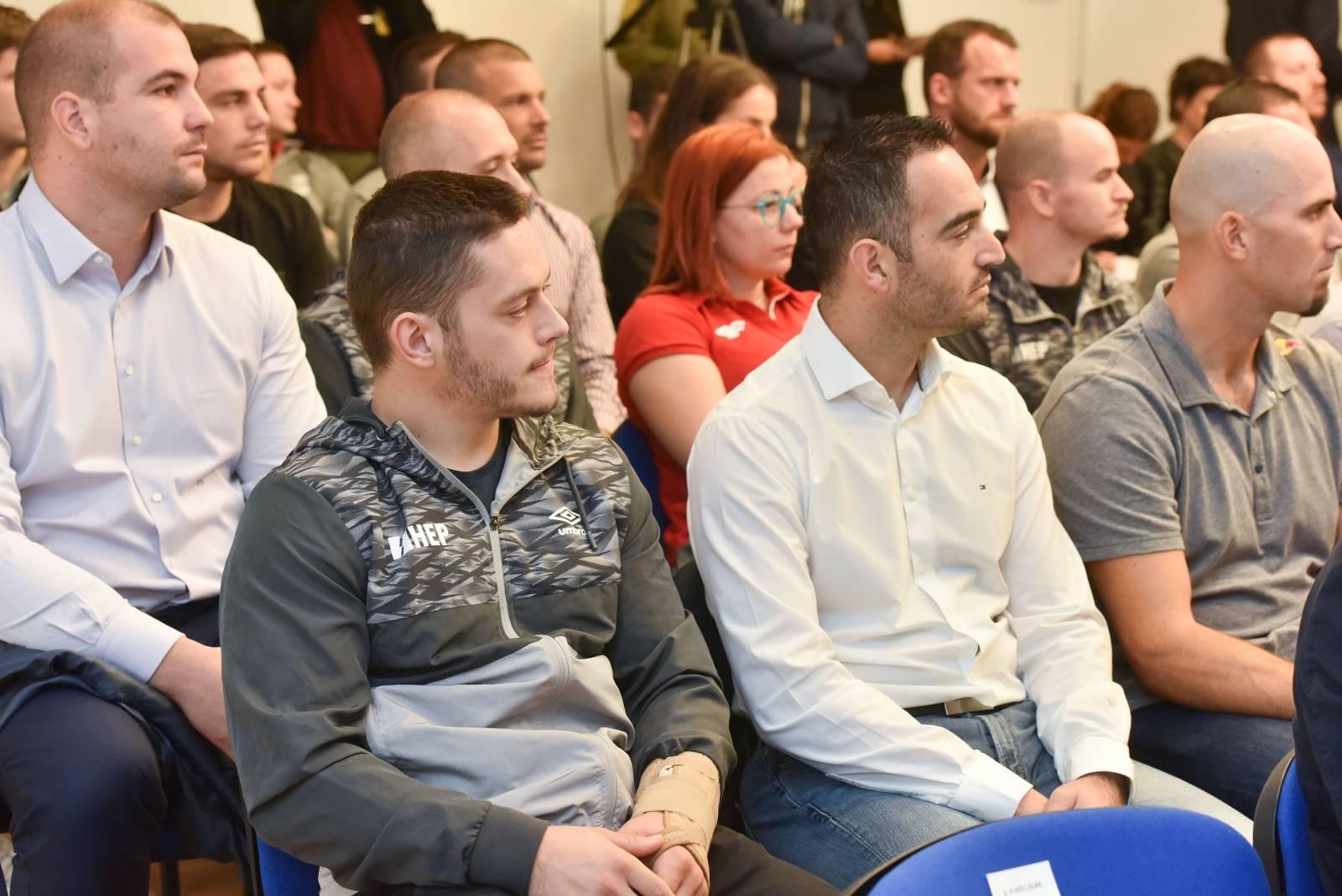 Zagreb: Primanje za vrhunske sportaše, ugovornike pričuvnike Hrvatske vojske
