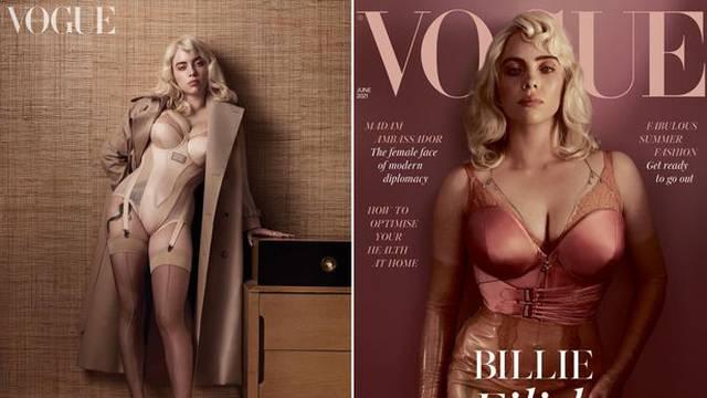 Billie Eilish u Vogueu nosi seksi haltere hrvatskog brenda, a vlasnica kaže: 'Uokvirit ću ih'