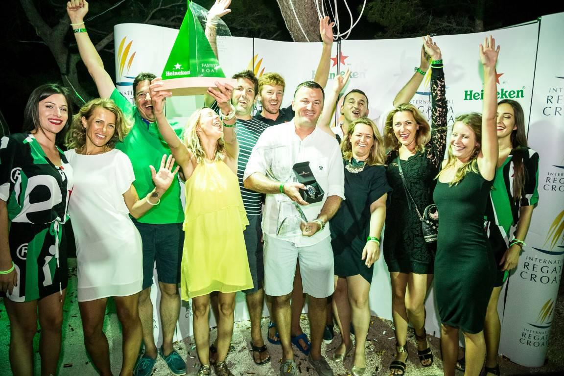 Brojni poznati na sjajnom  završetku Heineken Regatte