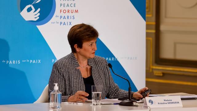Paris Peace Forum at Elysee Palace in Paris