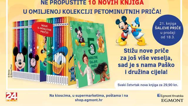 Stiže nastavak Disneyjeve kolekcije Petominutnih priča!