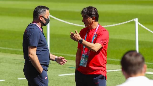 UEFA Europsko prvenstvo 2020, trening Hrvatske na Wembleyu