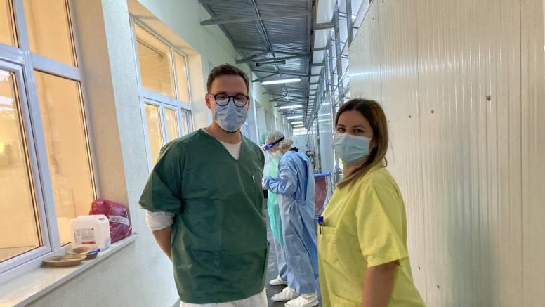 Medicinari iz splitske Covid bolnice: 'Zaplačemo kad nas nitko ne vidi, pritisak je velik'