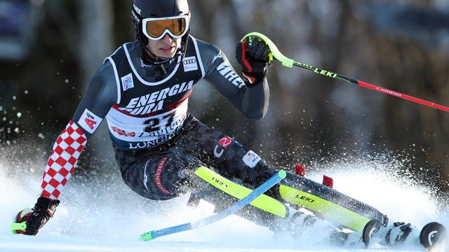 Zagreb: Prva vožnja muškog slaloma Audi FIS Svjetskog skijaškog kupa Snow Queen Trophy